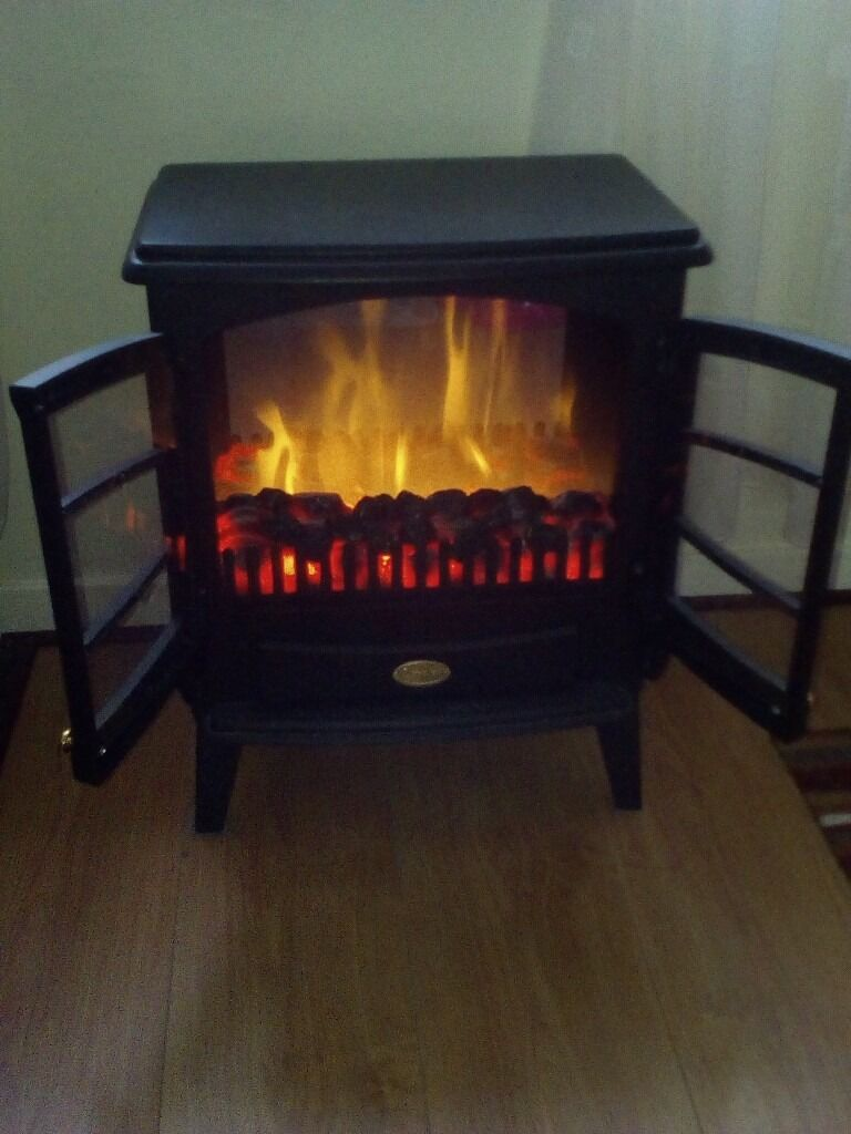 dimplex tango optiflame black stove style electric fire 2 in