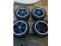 "15"" alloy wheels multifit 4x100 4x108"