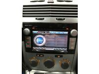 Eonon double din head unit with GPS Sat Nav and steering wheel controls