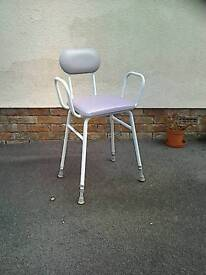 Kitchen perching stool and portable seat