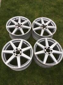 "Mercedes Amg 18"" alloys genuine"
