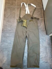 Goretex military waterproof trousers