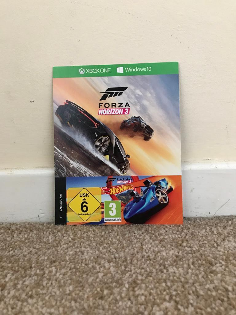 XBOX ONE FORZA HORIZON 3 with Expansion Hot Wheels | in Christchurch,  Dorset | Gumtree