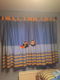 Next Digger Curtains