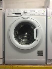 Hotpoint white good looking 9kg 1400spin A-class washing machine cheap