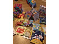 New books and used toys in excellent condition every thing £20