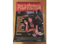 Pulp Fiction 3D effect poster (Rare). Perfect Condition. Nearest offer accepted.