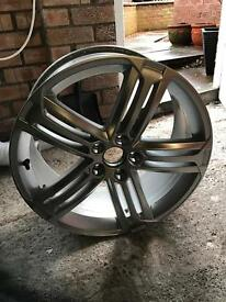Genuine VW mk6 golf R alloy wheel 5x112