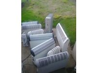 selection of electric heaters