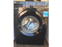 Beko 7kg A++ 1300 black gloss washing machine free delivery