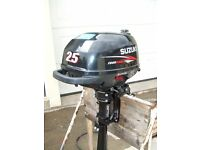 suzuki 2.5hp outboard 4 stroke short shaft
