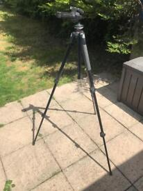 Manfrotto Tripod 190XB with Pistol Grip Head