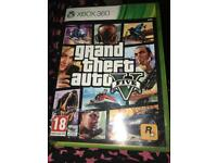 Xbox 360 -grand theft auto game