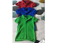 Ralph Lauren Polo Shirts x 3