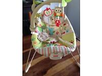 Fisher price woodsy friends comfy time bpuncer