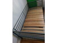 IKEA SINGLE METAL BED, DAYBED. £30 or 2 for £50