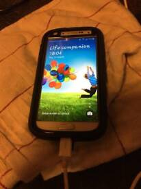 Samsung s4 in case good con dont no what net work its on £60