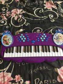 Frozen piano