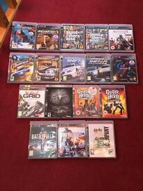 PS3 Games - GTA V, Battlefield, Uncharted etc.
