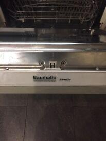 Baumatic BDI631 Integrated Dishwasher