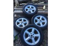 LAND ROVER DISCOVERY ALLOY WHEELS 1999