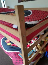 Bunk beds.. perfect for younger children