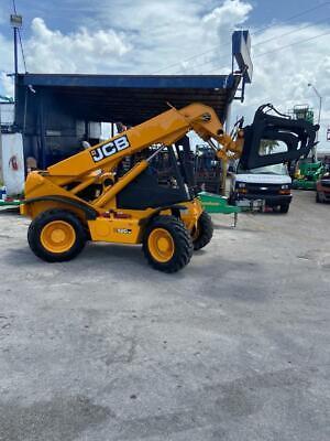 2003 Jcb 520-50 Telehandler Forklift Rops 4x4 Perkins Diesel 3400 Hours