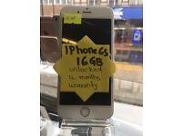 Iphone 6S ,Unlocked,16GB,Like Brand New,With Warranty