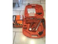 CAN DELIVER Newly Serviced First Fix Paslode IM350/90 Nail Gun & FULL BOX OF NAILS