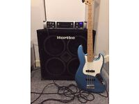 Fender Jazz Bass and Amp for Sale