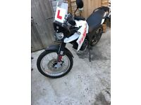 2015 65 DERBI TERRA 125 ADVENTURE (Just 1,400 miles from new!) New mot! Great value for money!