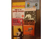 Graphic novels/books for sale