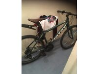 Carrera bike in mint green Limited edition in very good working order basically brand-new bike