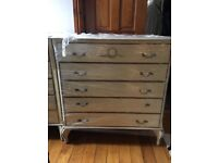 Pair of vintage chest of drawers cira 1970s