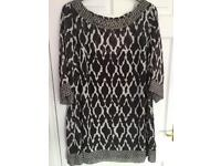 Marks and spencer portfolio tunic with underslip