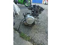Yamaha r125 2009 engine