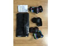SFR triple pad set size S. skating knee, elbow and wrist guards