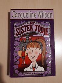 Jacqueline Wilson- My Sister Jodie- Children's book