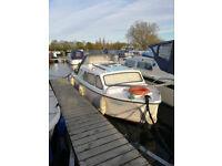 Buckingham boat. 20 foot Cabin Cruiser