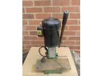 """Chisel Mortiser 1/2"""" chuck, 1/2hp, 2,800rpm, Model No NM-2, ex working order, very quiet."""