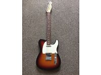 Fender Highway One Telecaster - 3 Tone Sunburst with Rosewood Neck