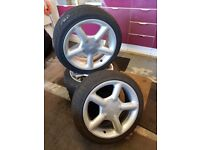 Ford Mondeo MK2 Zetec 16 Inch Alloy Wheels Escort Cosworth Style 4 Stud