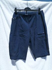 Chalou Navy Shorts (Size 24)