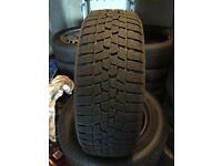 2 X Winter Tyres. Nearly New 205/55 R16 91H
