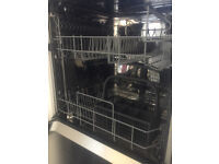 AEG F56302M0 Freestanding Dishwasher, Stainless Steel. Used but in excellent condition