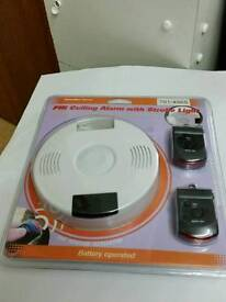 PIR Ceiling Alarm with Strobe Light new still in packaging