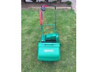 Qualcast electric cyclinder lawnmower