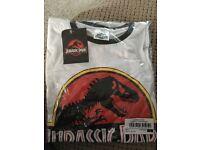 Unisex Jurassic Park T-shirt (Small)