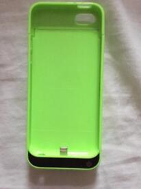 iPhone 5c external battery case