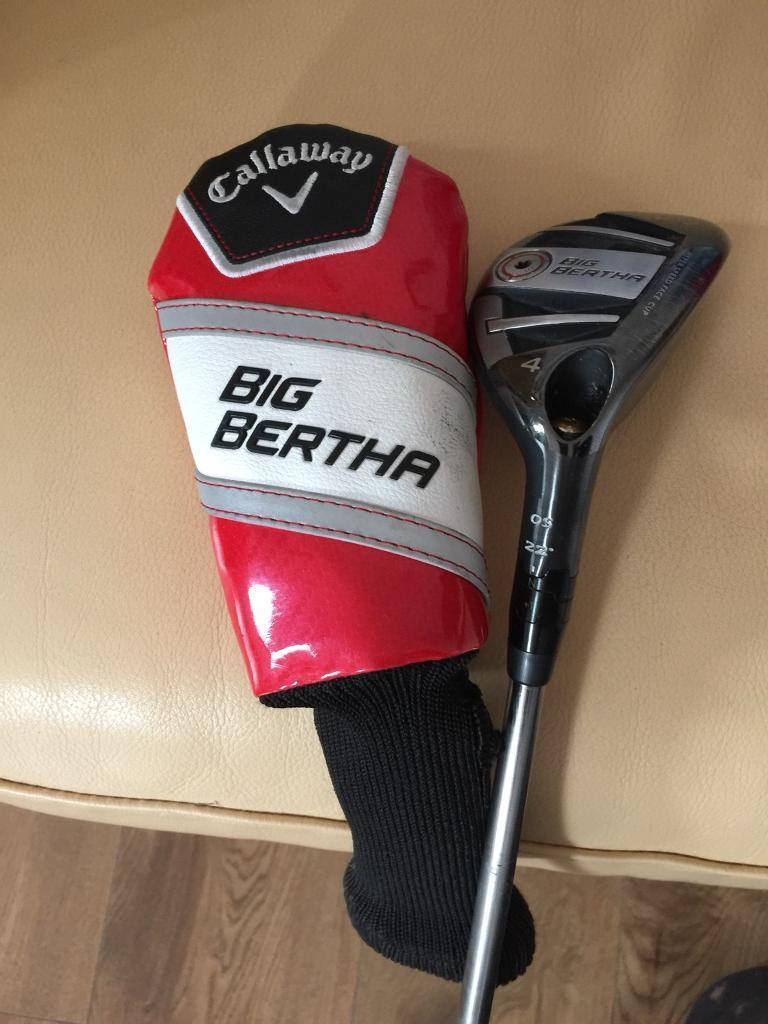 CALLAWAY BIG BERTHA. OS 22 degrees number 4 HYBRID